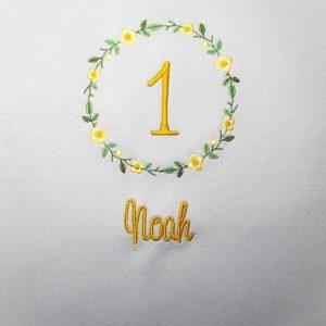 Geburtstagsblumenkranz Shirt