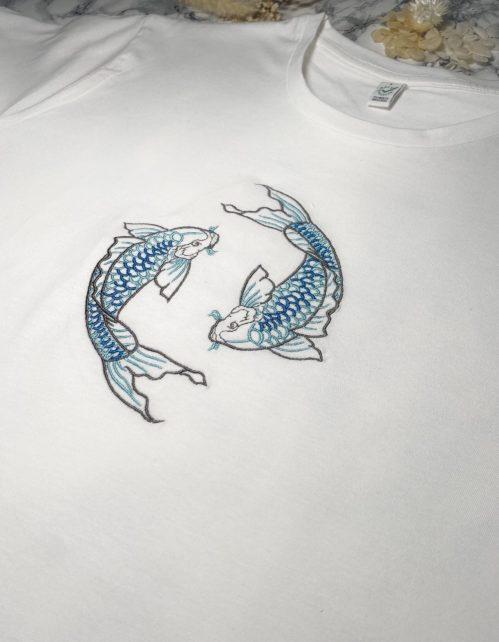 Koi Herrenshirt