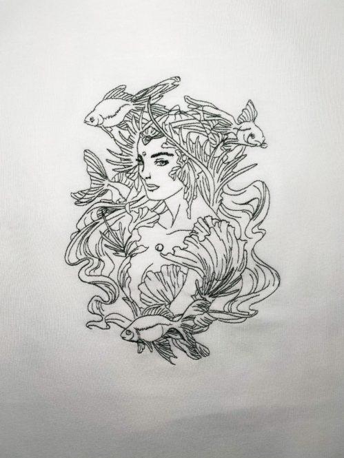 Mermaid Herren und Frauenshirt