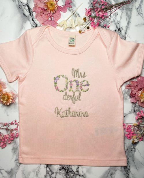 Mrs. Onederful Shirt Mädchen